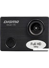 Экшен-камера Digma DiCam 170 (черный)