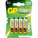 Батарейки GP Super Alkaline AA 4 шт. фото и картинки на Povorot.by