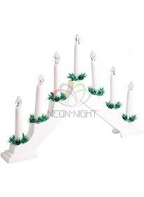 Светильник Neon-night Новогодняя горка 7 свечек 501-081