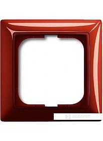 Рамка ABB Basic 55 1725-0-1516 (красный)