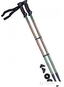 Палки для скандинавской ходьбы Berger Longway 77-135 (темно-зеленый/оранжевый)