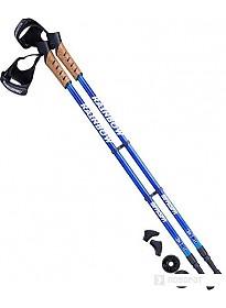 Палки для скандинавской ходьбы Berger Rainbow 77-135 (синий)
