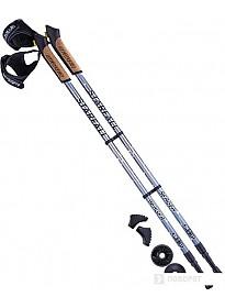 Палки для скандинавской ходьбы Berger Starfall 77-135 (серый/черный/белый)