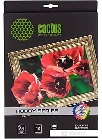 Холст CACTUS Хлопковый холст A4 300 г/кв.м. 10 листов (CS-СA426010)