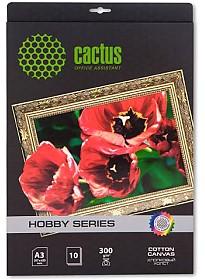 Холст CACTUS Холст A3 300 г/м2 10 листов [CS-СA326010]