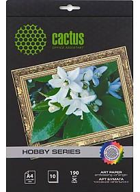 Фотобумага CACTUS матовая A4 190 г/кв.м. 10 листов [CS-DA419010]