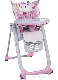 Стульчик для кормления Chicco Polly 2 Start (miss pink)