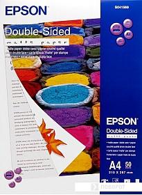 Фотобумага Epson Double-Sided Matte Paper A4 50 листов (C13S041569)