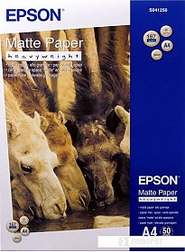 Фотобумага Epson Matte Paper-Heavyweight A4 50 листов (C13S041256)