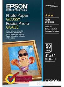 Фотобумага Epson Photo Paper Glossy 10х15 200 г/м2 50 л (C13S042547)