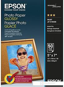 Фотобумага Epson Photo Paper Glossy 13x18 50 листов [C13S042545]