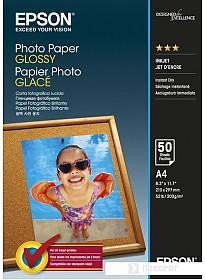 Фотобумага Epson Photo Paper Glossy A4 50 листов [C13S042539]