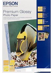 Фотобумага Epson Premium Glossy Photo Paper 10x15 20 листов (C13S041706)