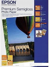 Фотобумага Epson Premium Semigloss Photo Paper 10х15 50 листов (C13S041765)