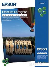 Фотобумага Epson Premium Semigloss Photo Paper A4 20 листов (C13S041332)