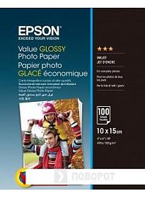 Фотобумага Epson Value Glossy Photo Paper 10х15 183 г/м2 100 листов [C13S400039]