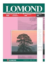 Фотобумага Lomond Глянцевая A4 150 г/кв.м. 50 листов (0102018)