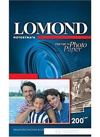Фотобумага Lomond суперглянцевая односторонняя A6 200 г/кв.м. 750 листов (1106203)