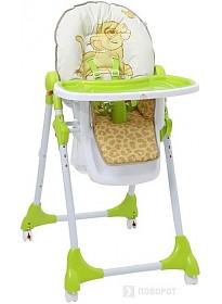Стульчик для кормления Polini Kids 470 Disney baby (Король лев, зеленый)