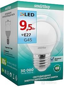 Светодиодная лампа SmartBuy G45 E27 9.5 Вт 4000 К [SBL-G45-9_5-40K-E27]