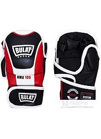 Перчатки для единоборств Bulat Full Contact MMA KMA-189 (S, черный/красный/белый)
