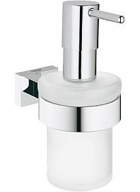 Дозатор для жидкого мыла Grohe Essentials Cube [40756001]