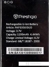 Аккумулятор для телефона Prestigio PAP3350BA