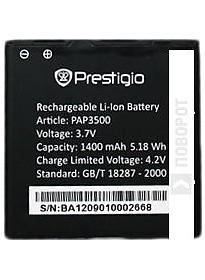 Аккумулятор для телефона Prestigio PAP3500BA