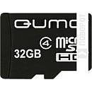 Карта памяти QUMO microSDHC (Class 4) 32GB (QM32GMICSDHC4) фото и картинки на Povorot.by