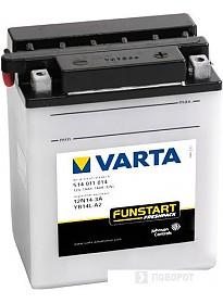 Мотоциклетный аккумулятор Varta 12N14-3A, YB14L-A2 514 011 014 (14 А/ч)