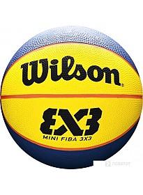 Мяч Wilson FIBA 3X3 Mini Rubber Basketball WTB1733XB (3 размер)