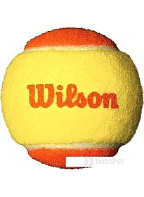 Мяч Wilson Starter Orange WRT137200 (12 шт)