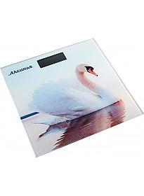Напольные весы Аксинья КС-6010 Белый лебедь
