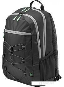 Рюкзак HP Active (черный/зеленый)