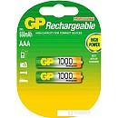 Аккумуляторы GP AAA 1000mAh 2 шт. [100AAAHC] фото и картинки на Povorot.by