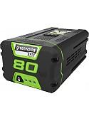 Аккумулятор Greenworks G80B4 (80В/4 Ah)