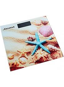 Напольные весы Аксинья КС-6007 Пляж