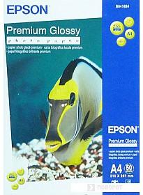 Фотобумага Epson Premium Glossy Photo Paper A4 50 листов (C13S041624)