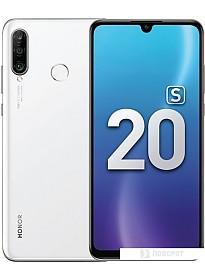 Смартфон HONOR 20S MAR-LX1H 6GB/128GB (ледяной белый)
