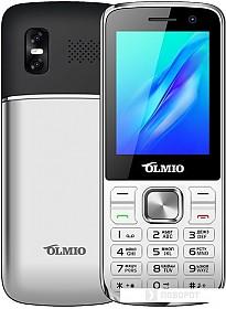 Мобильный телефон Olmio M22 (серебристый)