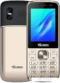 Мобильный телефон Olmio M22 (золотистый)