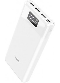 Портативное зарядное устройство Hoco B35E (белый)