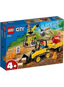 Конструктор LEGO City 60252 Строительный бульдозер