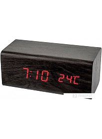 Радиочасы Perfeo PF-S718T (черный)