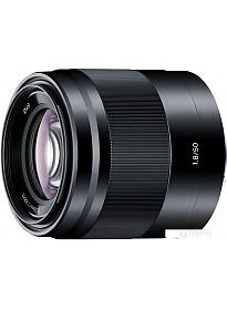 Объектив Sony E 50mm F1.8 (черный)