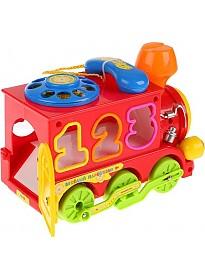 Интерактивная игрушка Умка Паровозик-сортер из Ромашкова B655-H26001-J006-RU