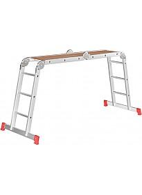 Лестница-трансформер Новая высота NV 233 трансформер с помостом 4x5 ступеней