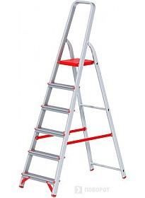 Лестница-стремянка Новая высота NV 311 алюминиевая профессиональная 6 ступеней
