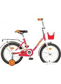Детский велосипед Novatrack Maple 16 (красный, 2019)