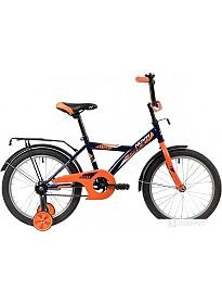 Детский велосипед Novatrack Astra 18 183ASTRA.BL20 (синий/оранжевый, 2020)